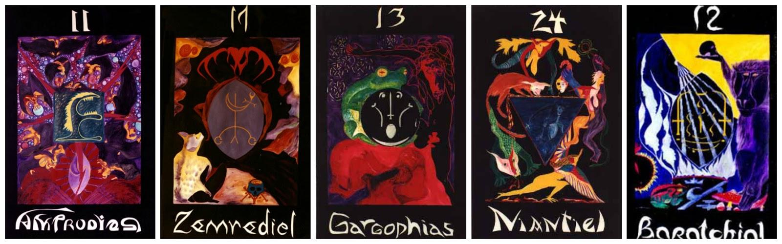 Shadow Tarot Collage