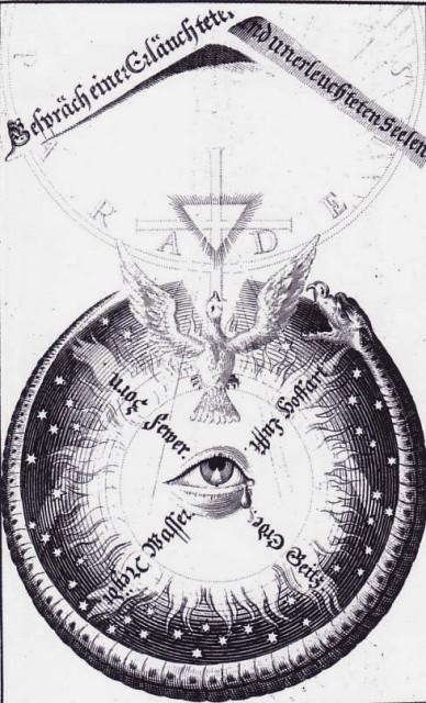 Jacob Boheme. Theosophische Wercke. Amsterdam, 1682.