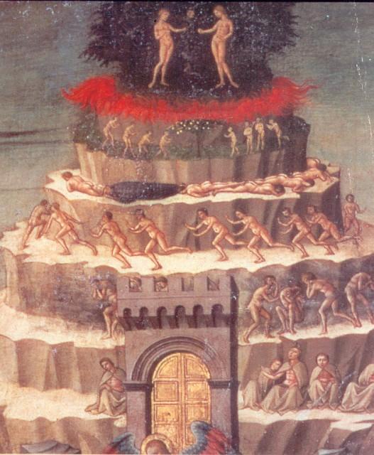 Доменико де Микелино. Данте. Деталь