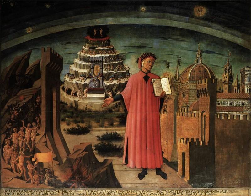 Доменико де Микелино. Данте.