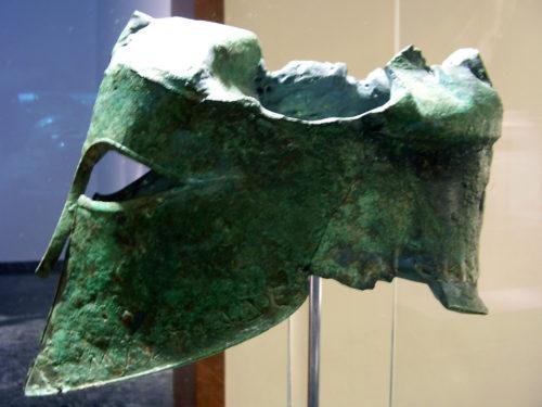 Шлем Мильтиада, Афины.