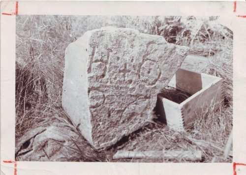 Oak Island Stone, related to Cefala.