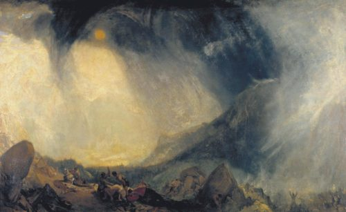 Snow Storm: Hannibal and his Army Crossing the Alps exhibited 1812 Joseph Mallord William Turner 1775-1851